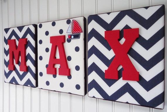 Items similar to nursery letters nursery decor for Room decor embellishment art