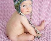 Crochet Baby Hat, Crochet Wool Baby Hat, Crochet Newborn Hat, Baby Girl Hat, Baby Accessories
