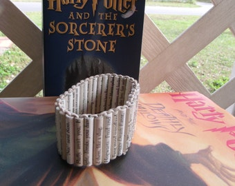 Made to order Beginning and End Harry Potter paper bead bracelet
