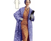 Vintage Sewing Patterns Plus Size (or any size) 1956 Suit Jacket Skirt Overcoat- PDF - Pattern No 42 Roseann