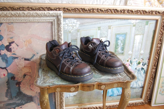 Brown Leather Docs
