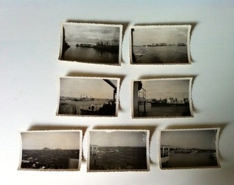 Vintage photo: Instant collection nautical  photography, 1940's