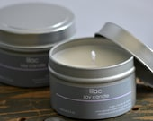 Lilac Soy Candle Tin 4oz. - floral candle - spring soy candle - summer candle - lilac candle - feminine soy candle