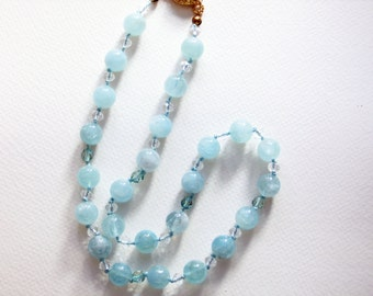 Aquamarine-Crystal-Beaded-Necklace