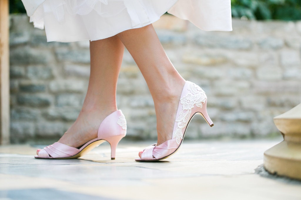 Pink High Heels For Wedding: Wedding Shoes Light Pink Wedding Heels Pink Bridal By