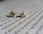 Andromeda Genuine Swarovski Crystal Star Sterling Silver Stud Earrings