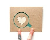 Coffee Card: Laser Cut Coffee Love anytime card