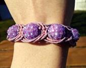 Macrame Fishbone Hemp Bracelet