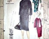 Misses Suit Jacket Skirt and Blouse Vintage Sewing Pattern Vogue 6053 Special Design Mad Men Size 14
