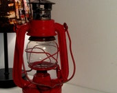 Vintage Lantern made by hwa kwang in Red color