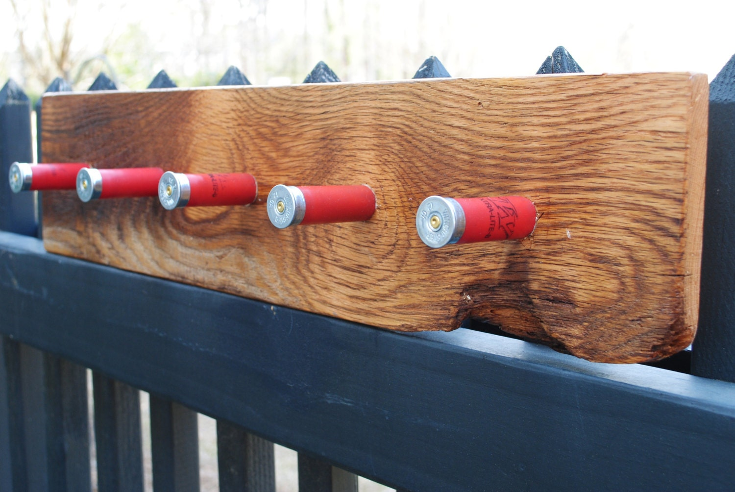 Shotgun Shell Coat Or Hat Rack Reclaimed Oak Barn Wood