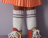 High Top Shoe Cover Legwarmers EASY Crochet PDF Pattern - Toddler, Child, & Youth sizes Sale- Buy 2 patterns, Get 1 FREE.