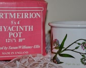 Set of Three Portmeirion Hyacinth Pots in Mint Condition