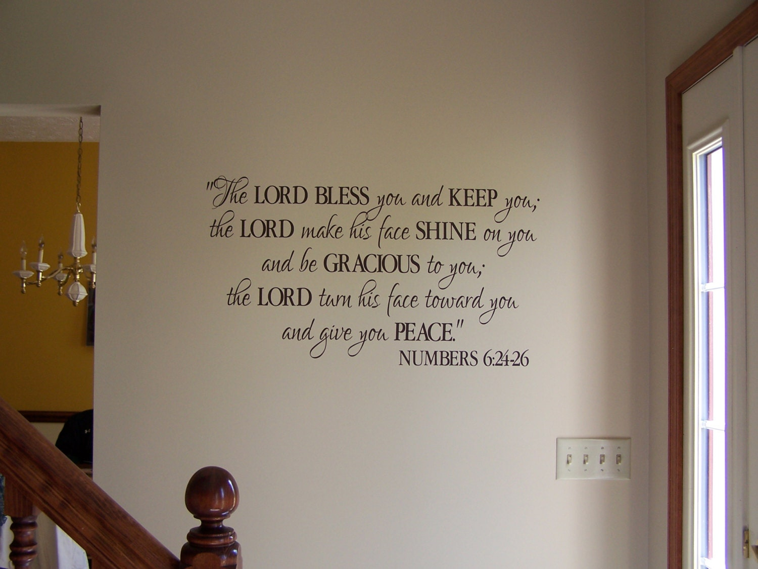 Numbers 6 24 26 The Lord Bless You And Keep You By