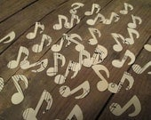 500 Confetti, Music Note Confetti, Vintage Sheet Music, Music theme Party, Music Decor, Sheet Music Decor, Great With Sheet Music Luminaries