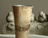 birch bark vases, planter wedding flower pot, rustic chic wedding centerpiece, home decor wedding table decor