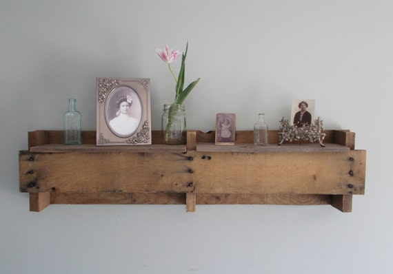 Rustic John Deere Pallet Shelf
