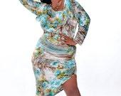 Tropica Asymmetrical Dress