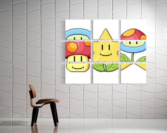 Mario Match Canvas Art Super Mario Bros 3 Mario Mini Game Home Decorators Catalog Best Ideas of Home Decor and Design [homedecoratorscatalog.us]