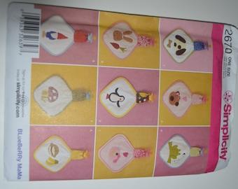 Simplicity 2670 Babies Blinky Blanket Sewing Pattern