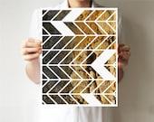 Geometric print, Geometric art, Geometric poster, Modern print, Modern art, Abstract art, Nature photography, Art print , Tree bark, brown
