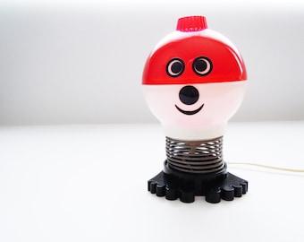 Vintage Soviet table lamp Glow-worm