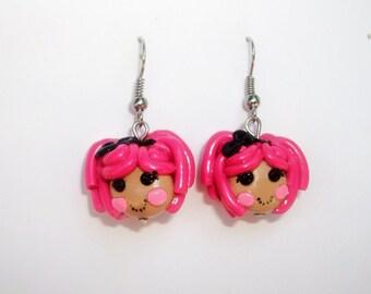 lalaloopsy  sugar crumbs cookies earrings