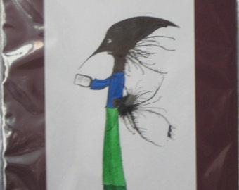 Roger Dunkin Original Monster Art