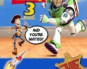 Toy Story Party Printable Invitation - with Photo
