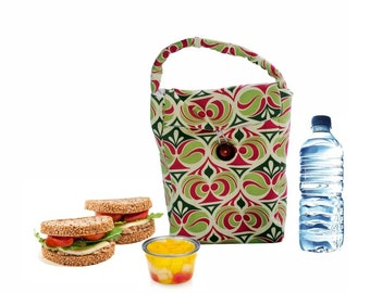 Resuable Lunch Bag Sack Tote Oversized Insulated Picnic Pouch