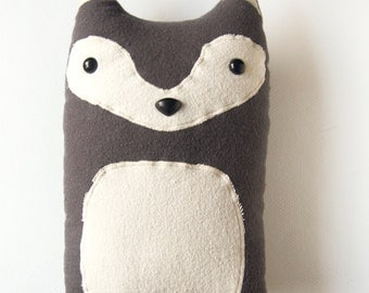 Handmade Woodland Animal Character Pillows & by FluffedAnimals