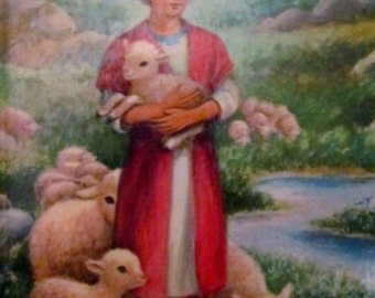 Bible Stories By Mary Alice Jones  - Rand McNally Giant Book