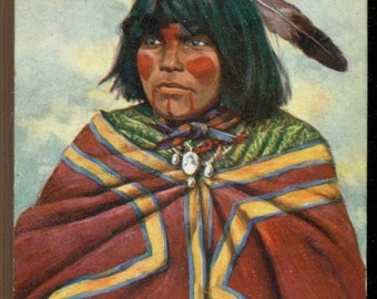 Raphael Tuck Walapai Indian Squaw Oilette Undivided Back Postmarked 1907