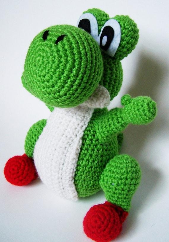 How To Crochet Yoshi