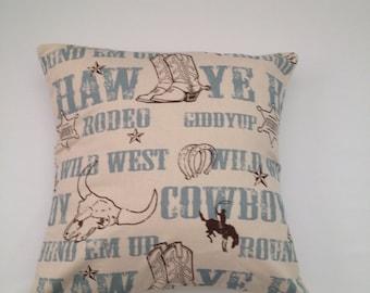 Cowboy Decorative pillow cover