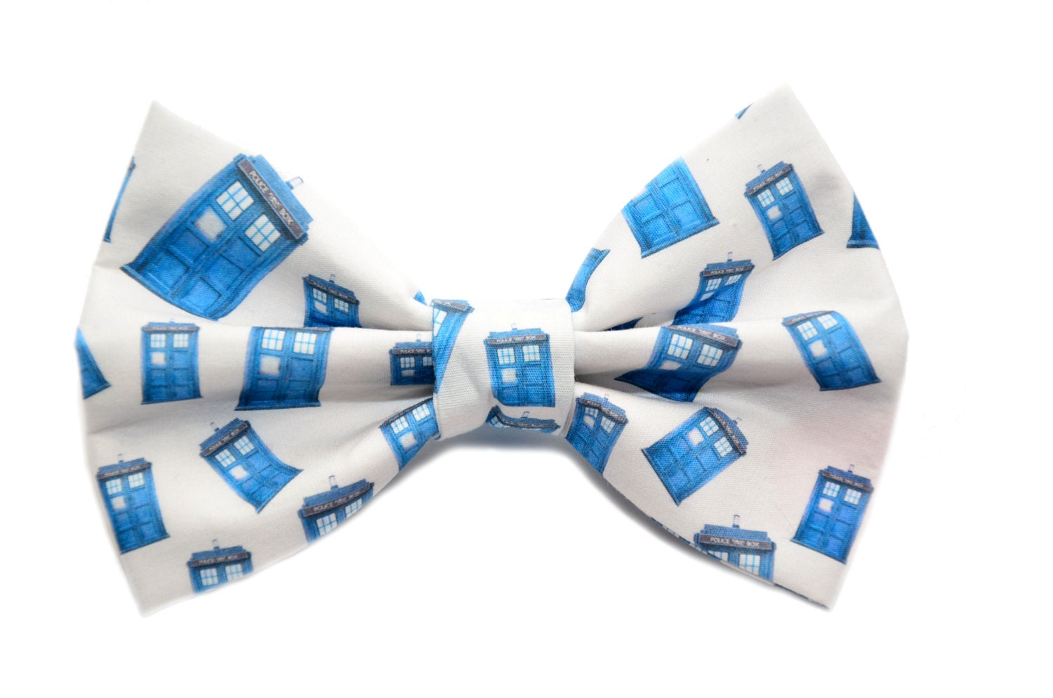dr who bow tie with adjustable tardis fandom bow