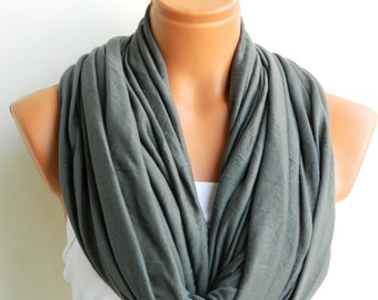 Infinity Scarves, Nomad scarf,textile Grey Scarf,Loop Scarf,Circle Scarf,Cowl Scarf,Nomad Cowl....
