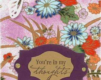 You're in my thoughts - Greeting Card