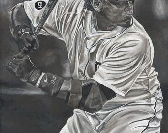 Miguel Cabrera Detroit Tigers Glicee Prints
