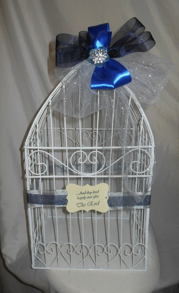 Birdcage For Wedding Gift Cards : Bird Cage Wedding Gift Card Holder by marys4everflowers on Etsy