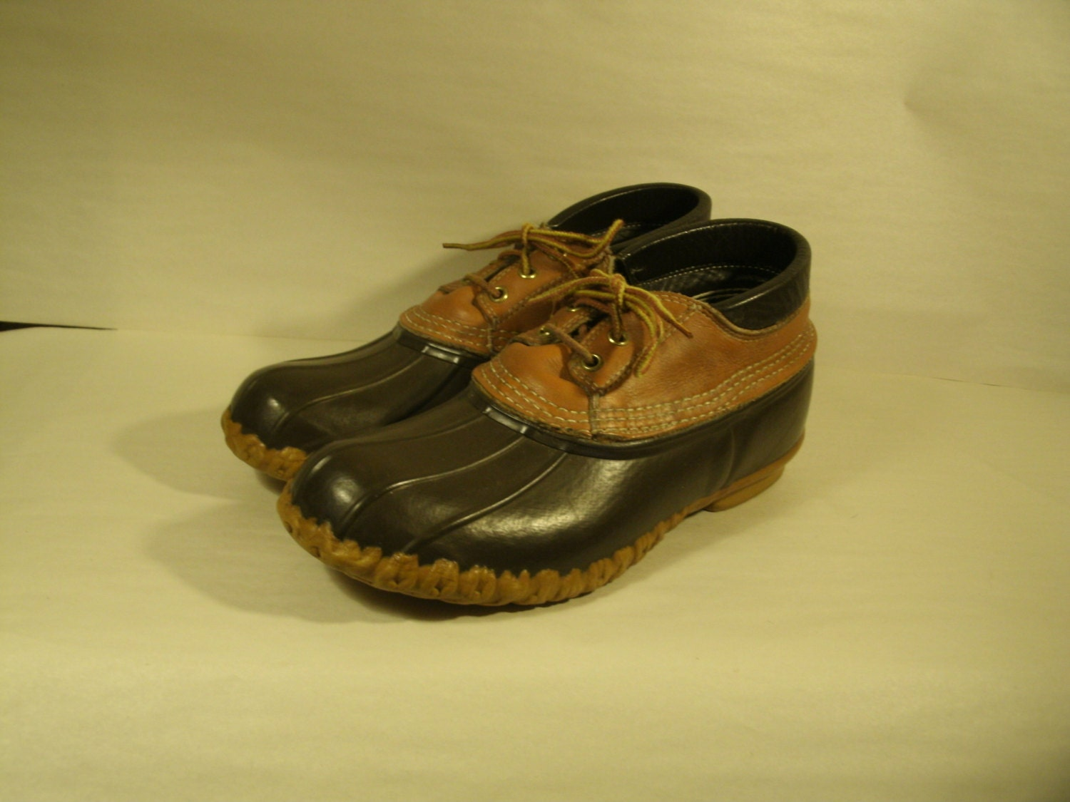 LL Bean Boots Maine Hunting Shoes Duck Hunter Rubber