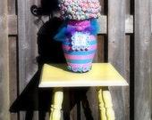 Candy Centerpiece, Custom Candy Centerpiece, pop centerpiece, lollipop, wedding centerpiece, lalaloopsy
