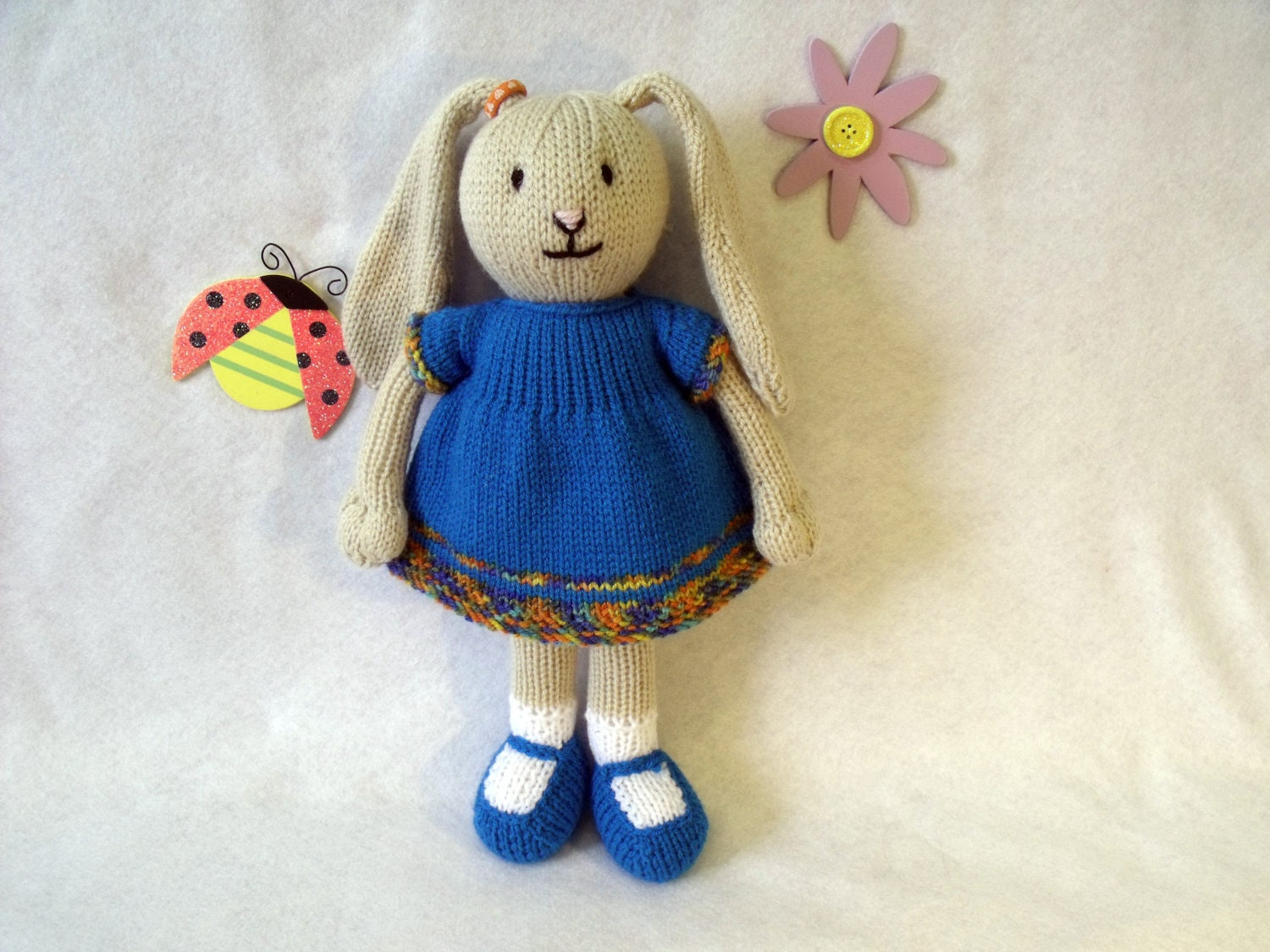Toy doll bunny knitting pattern bina the bunny floppy eared zoom bankloansurffo Choice Image