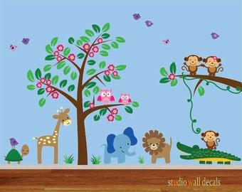 Nursery Wall Decal REUSABLE 910