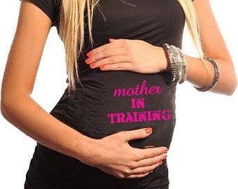 Maternity / Pregnancy Fitness T-Shirt - Mother In Training