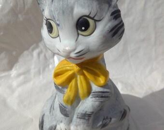 Gray Cat Bell Gray Cat