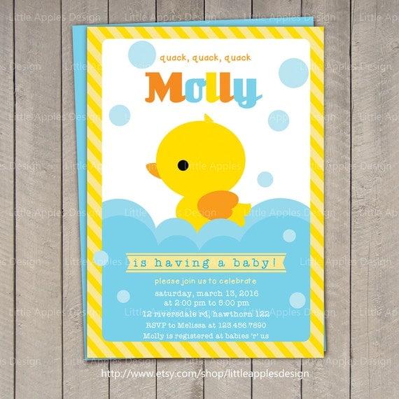 Rubber Ducky Invitations was adorable invitation example