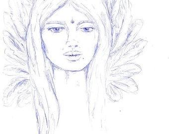 Original artwork - 'Sophia ll'