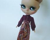 LaDonna Jumpsuit for Blythe Doll
