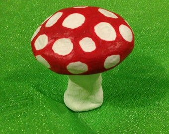Red and White Toadstool